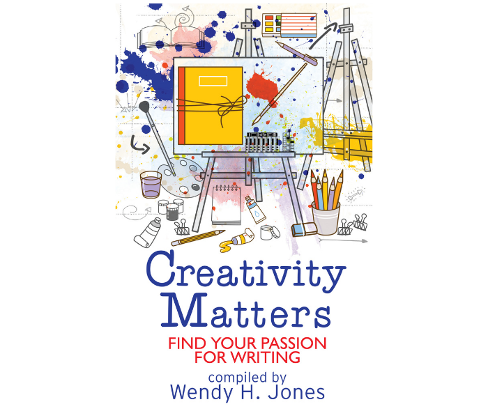 """Book cover photo entitled """"Creativity Matters"""" by Wendy H. Jones"""